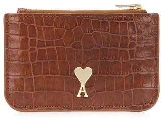 AMI Paris Ami De Coeur zipped coin purse