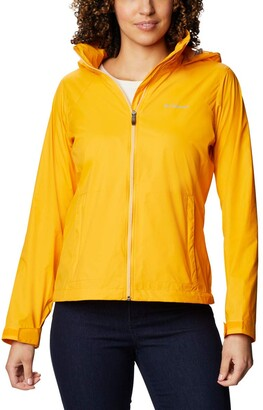 Columbia Women's Plus Size Switchback III Adjustable Waterproof Rain Jacket