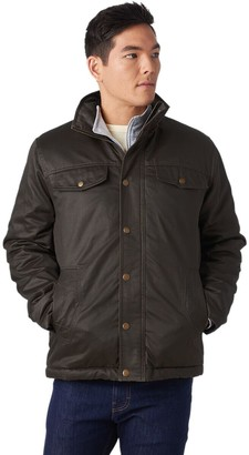 Stoic Coated Cotton Sherpa-Lined Jacket - Men's