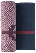 Johnston & Murphy Airplane Stripe Scarf
