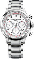 Baume & Mercier Men's Swiss Automatic Chronograph Capeland Stainless Steel Bracelet Watch 42mm M0A10061