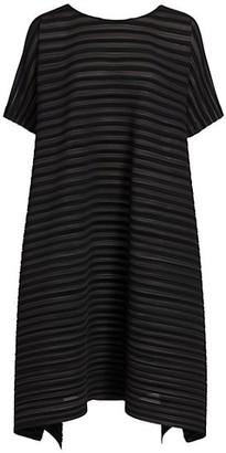 Pleats Please Issey Miyake Komorebi Garment Pleated Shift Dress