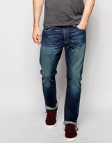 Polo Ralph Lauren Straight Jeans In Mid Wash - Blue