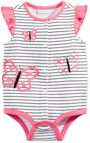 First Impressions Cotton Striped Butterfly Snap-Up Bodysuit, Baby Girls (0-24 months), Only at Macy's
