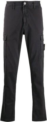 Stone Island Slim Cotton Cargo Pants
