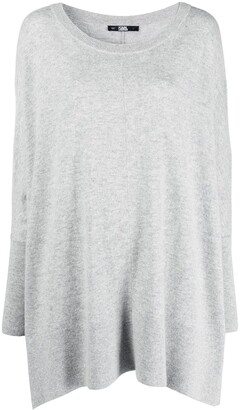 Karl Lagerfeld Paris Lounge Merino-Knit Tunic