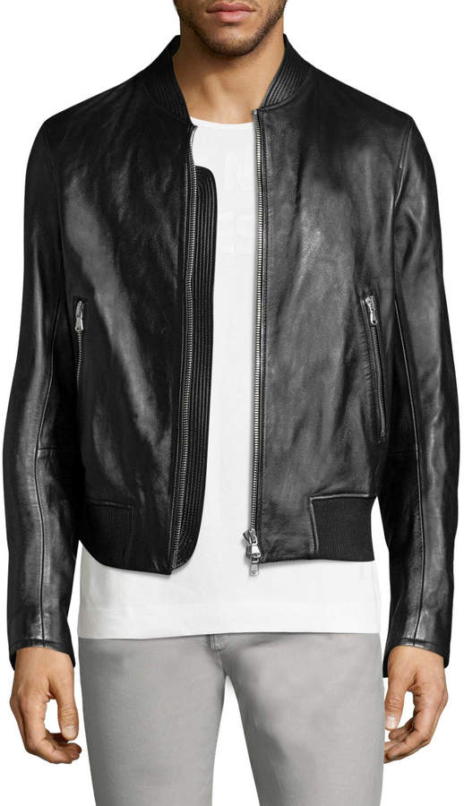Diesel Black Gold Men's Laston Bomber Jacket