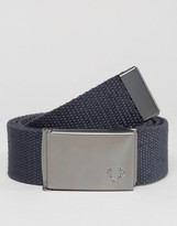 Fred Perry Solid Webbing Belt