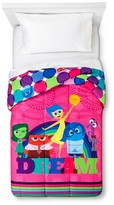 Disney Inside Out Comforter - Pink (Twin)