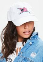 Missguided Shark Embroidered Cap