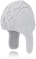 Barneys New York Men's Merino Wool Trapper Hat-LIGHT GREY