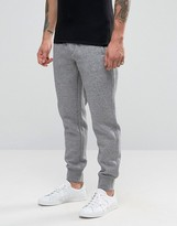 Armani Jeans Cuffed Joggers With Logo In Grey