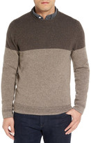 John W. Nordstrom Cashmere Colorblock Sweater