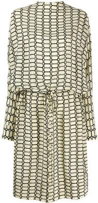 Plan C geo print dress