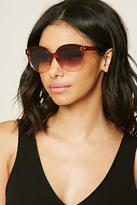 Forever 21 FOREVER 21+ Glossy Round Sunglasses