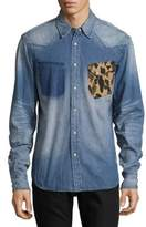 PRPS Rifle Cotton Casual Button-Down Shirt