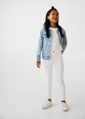 MANGO Super skinny jeans white - 5 - Kids