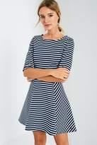 Jack Wills Tenderton Striped Skater Dress