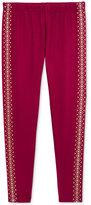 Epic Threads Girls' Glitter Tuxedo-Stripe Leggings, Only at Macy's