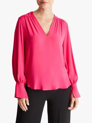 Fenn Wright Manson Fleuretta Long Sleeve Blouse, Pink