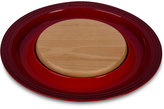 Le Creuset Round Platter & Cutting Board