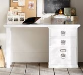 Pottery Barn Bedford Small Desk, Antique White
