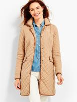 Talbots Quilted Barn Coat