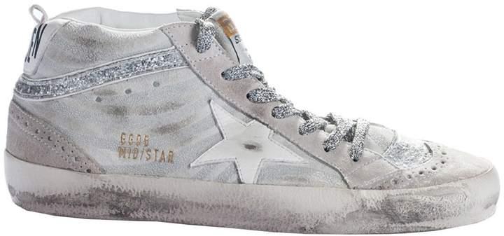 Golden Goose Mid Star Hi-Top Sneakers