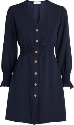 Sandro Button-Front Dress