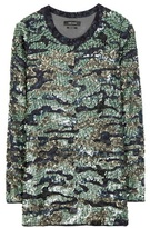 Isabel Marant Edilon Sequin-embellished Silk Top