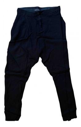 Damir Doma Black Viscose Trousers