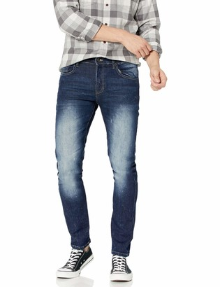 Southpole Men's Flex Stretch Basic Skinny Fit Denim Pants