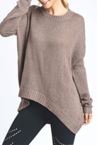 Mono B Elbow Cut-Out Sweater
