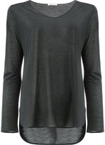 Lamberto Losani sheer T-shirt