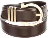 Salvatore Ferragamo Gancini Logo Belt