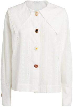 REJINA PYO Embroidered Elliot Shirt