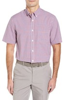 Nordstrom Plaid Sport Shirt (Regular & Tall)