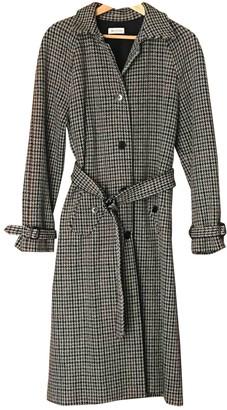 Masscob Grey Wool Coat for Women