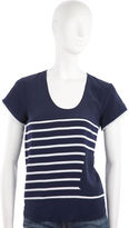 Striped Top - Navy