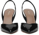 Reiss Millie - Patent-leather Slingback Shoes in Black, Womens