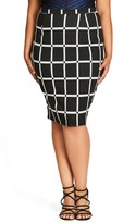 City Chic Plus Size Women's Vintage Chic Pencil Skirt