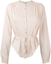 Forte Forte sheer blouse - women - Silk/Cotton - I