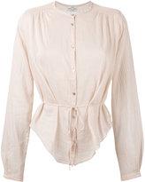 Forte Forte sheer blouse - women - Silk/Cotton - II