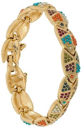 Susan Caplan Vintage D'Orlan embellished bracelet