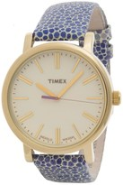 Timex Style Originals Modern Watch - 38mm, Leather Strap (For Women)