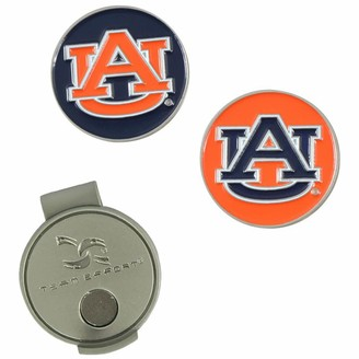 Unbranded Auburn Tigers Hat Clip & Ball Markers Set