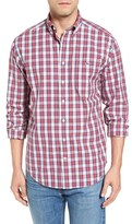 Vineyard Vines Men's Wind Tide - Tucker Classic Fit Plaid Sport Shirt
