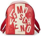 Love Moschino Women's Color-Block Logo Backpack