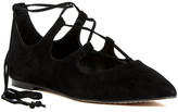 Vince Camuto Emmari Pointed Toe Ghillie Flat