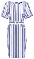 A.P.C. Naxos Striped Cotton Dress